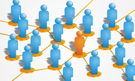 trabajo social: Conexiones Personas
