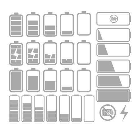 battery icon Stock Vector - 19761347