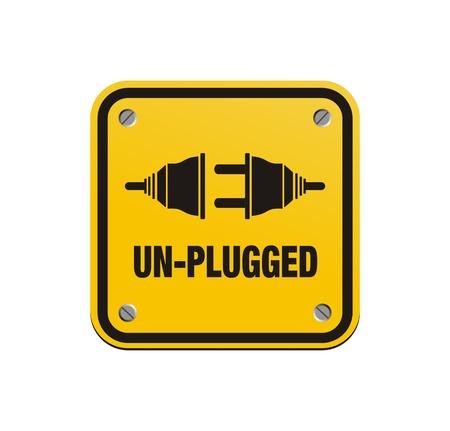 unplugged: signos cuadrados unplugged