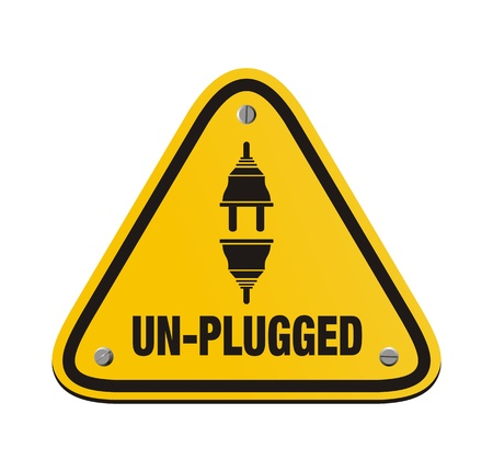 unplugged: unplugged triangle signs