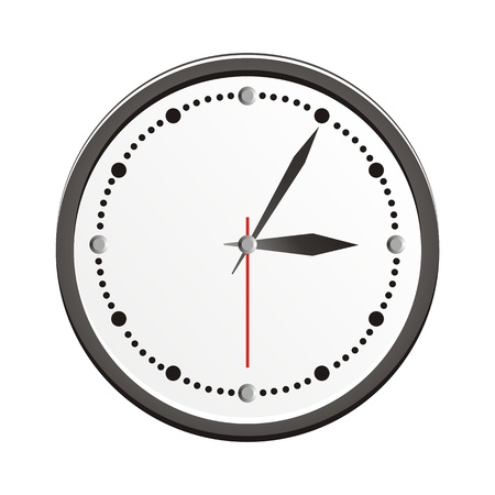 analogue clock Vector
