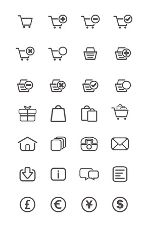 outline icon - ecommerce Vector