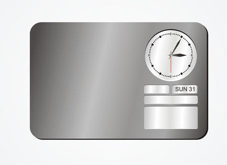 timekeeper: clock decorations - black