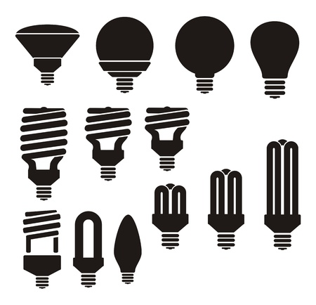 led: energy saving light bulb