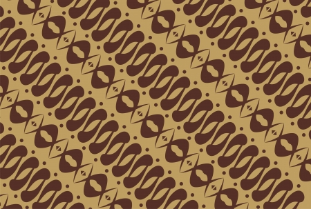 indonesian native - batik pattern Vector