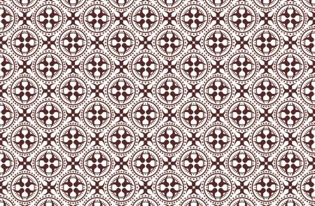 batik patter seamless Illustration