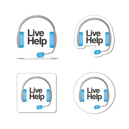 live help Stock Vector - 21311044