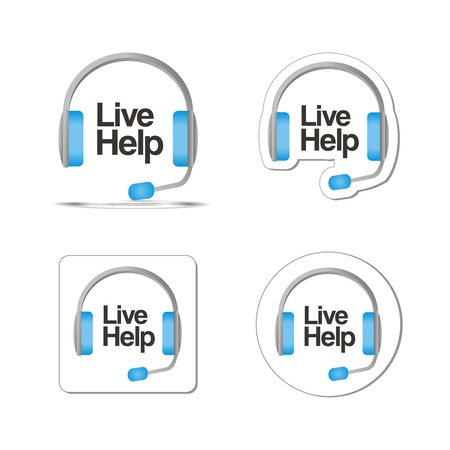chat button: live help