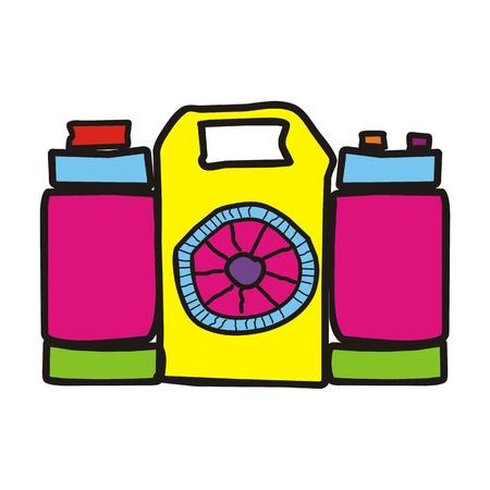 color digital camera: childish cartoon camera