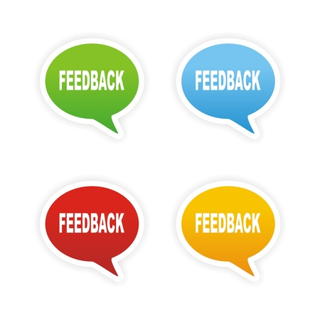 feedback bubble text sticker photo