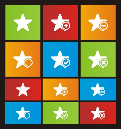 windows 8: star metro style icon sets