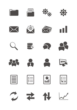 blog icon sets Vector