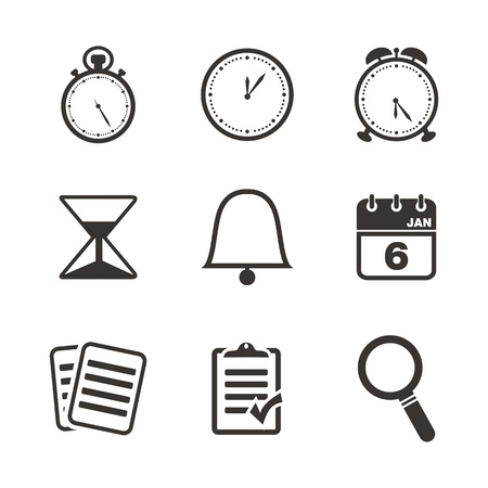 appointment book: organiser icon sets