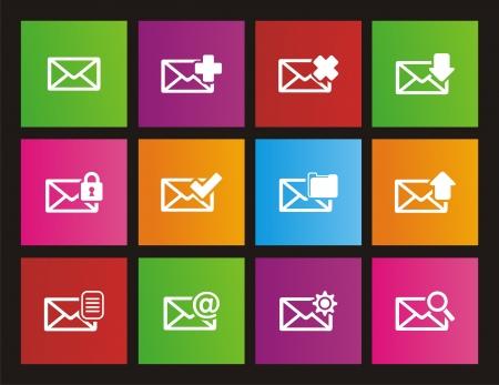 windows 8: messaging metro style icon sets