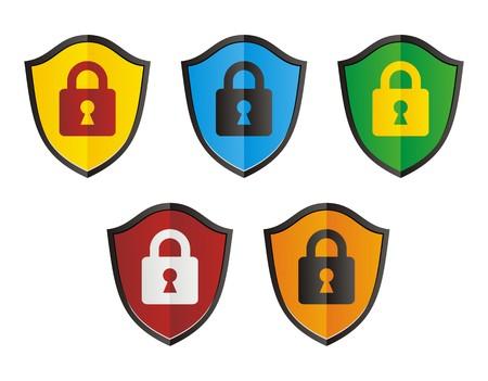 ssl: secure shield Illustration