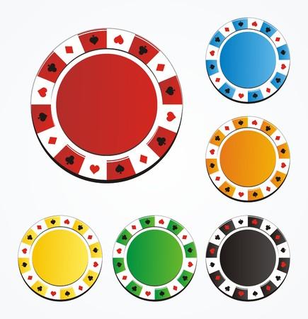 conjuntos de chip de póquer