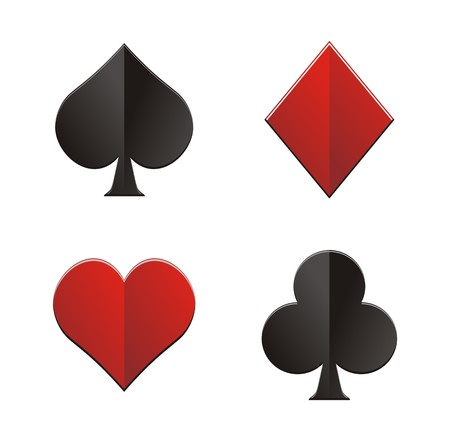 Diamond Heart Club Spade Royalty Free Cliparts Vectors And Stock