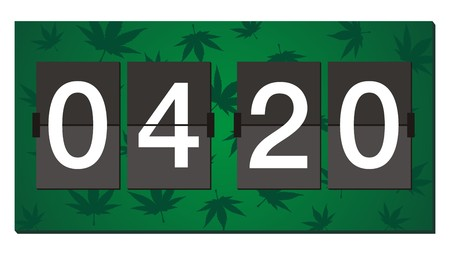 reefer: 420 flipper clock - burn time