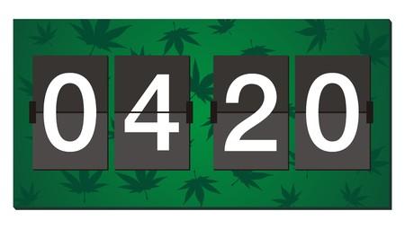 ivresse: 420 flipper horloge - temps de combustion