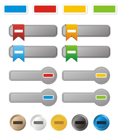 minus button kit Stock Vector - 22509568