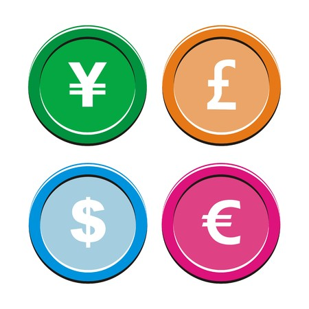 cyrcle: currency round icon sets