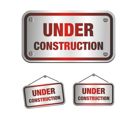 under construction signs Stock Vector - 24749717