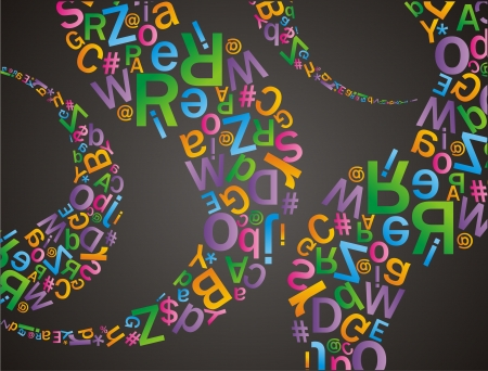 alfabet: alfabet pattern Illustration