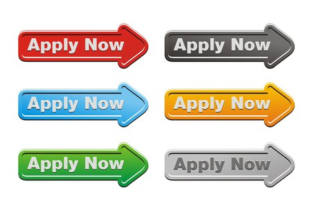 join here: apply now button sets - arrow buttons Illustration