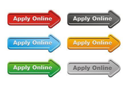 online form: apply online button sets - arrow buttons