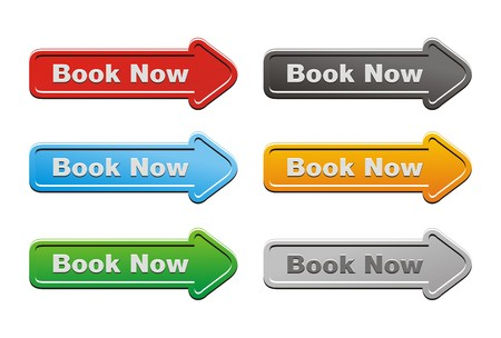 book now button sets - arrow buttons Vector