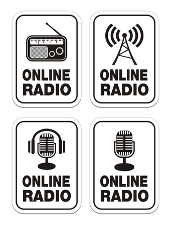 newscast: online radio signs