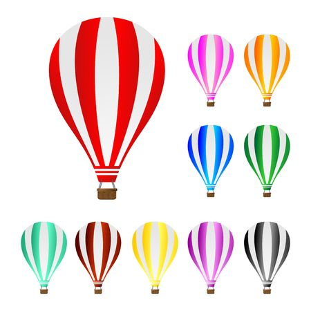 air baloon: hot air balloon