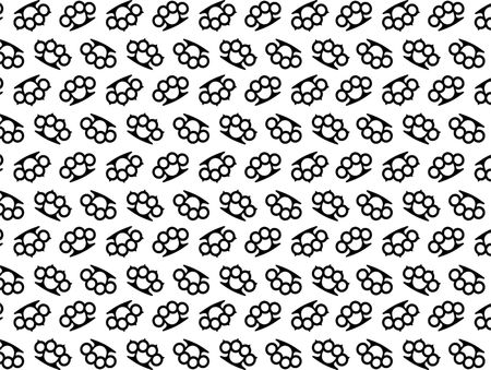 knuckle: knuckle seamless pattern