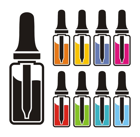 e cigarette: vaping liquid sets