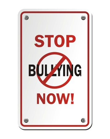 social awareness symbol: stop bullying now signs