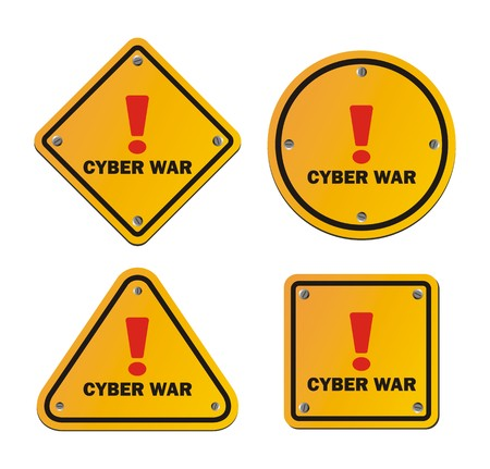 cyber war: cyber war - warning signs