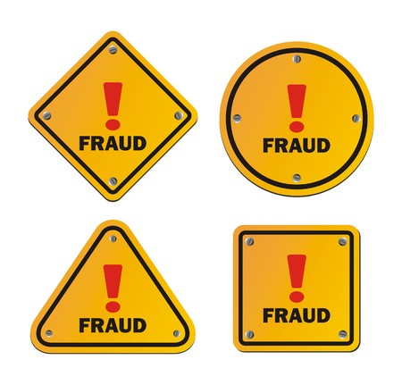 bogus: fraud - warning sign