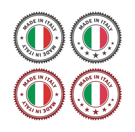 made in italy - badge Banco de Imagens - 36832958