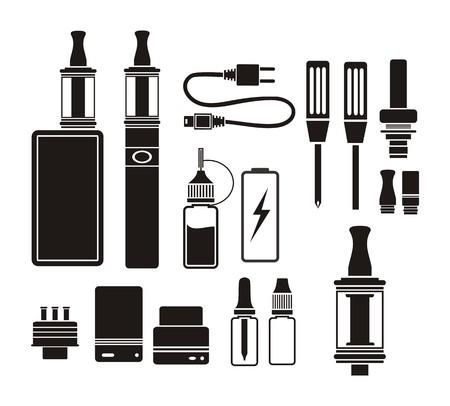 vaporizer kits - silhouette