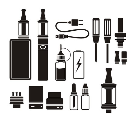 kits: vaporizer kits - silhouette