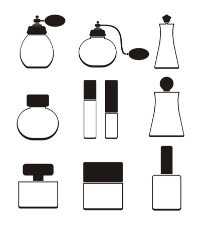 atomizer: perfume bottle - pictogram