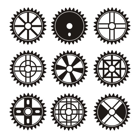 sprocket: bicycle sprocket