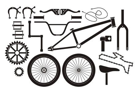 Pièces BMX - pictogramme