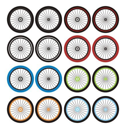 velocipede: bmx wheels - sets