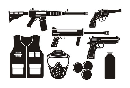 airsoft gun equipment