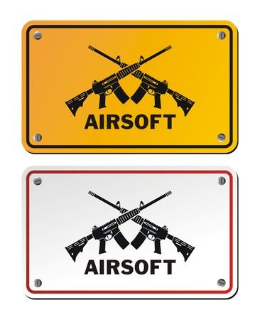 airsoft: airsoft signs