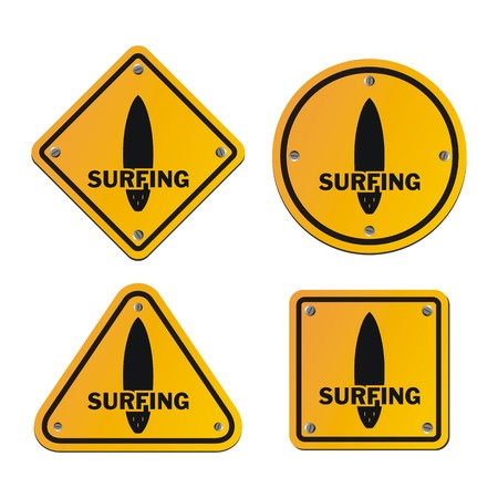 surfing signs