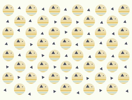 polka dot: retro polka dot seamless pattern Illustration