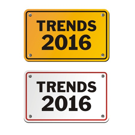trends: trends 2016 signs