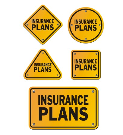 family policy: insurance plans signs